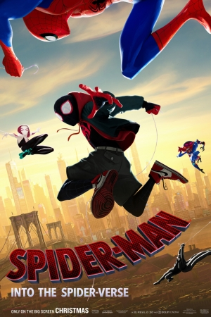 Spider-Man Into the Spider-Verse (2018) สไปเดอร์-แมน: ผงาดสู่จักรวาล-แมงมุม - Cover