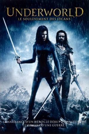 Underworld 3 : Rise of the Lycans (2009) สงครามโค่นพันธุ์อสูร 3 : ปลดแอกจอมทัพอสูร - Cover