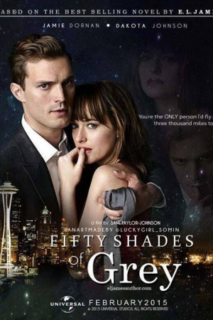 Fifty Shades of Grey (2015) : ฟิฟตี้ เชดส์ ออฟ เกรย์ - Cover