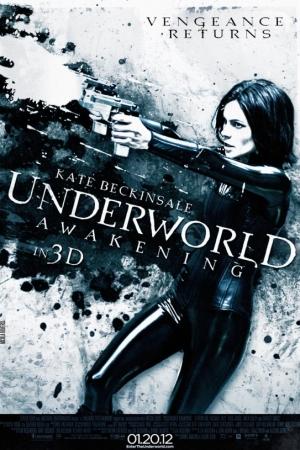 Underworld Awakening (2012) สงครามโค่นพันธุ์อสูร 4 กำเนิดใหม่ราชินีแวมไพร์ - Cover