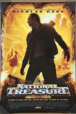 National Treasure 1 ปฎิบัติการเดือดล่าบันทึกสุดขอบโลก 1 (2004) - Cover