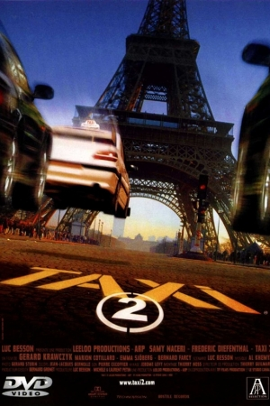 Taxi 2 แท็กซี่ซิ่งระเบิดบ้าระห่ำ 2 (2000) - Cover