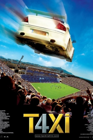 Taxi 4 แท็กซี่ ซิ่งระเบิดบ้าระห่ำ 4 (2007) - Cover