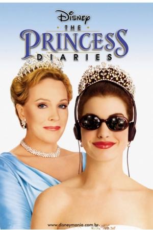 The Princess Diaries (2001) บันทึกรักเจ้าหญิงมือใหม่ - Cover