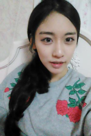 สาวเกาหลี โคตรน่ารัก พิมพ์นิยม คนนี้บอกเลย - Cover