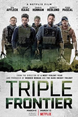 Triple Frontier (2019) ปล้น ล่า ท้านรก (บรรยายไทย NETFLIX) - Cover