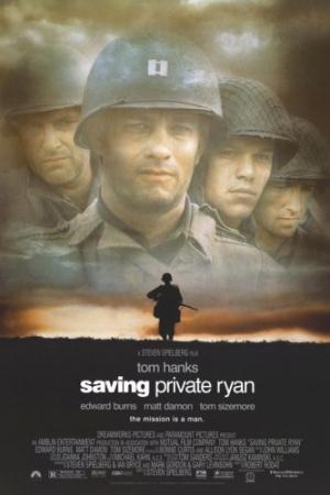 Saving Private Ryan (1998) ฝ่าสมรภูมินรก - Cover