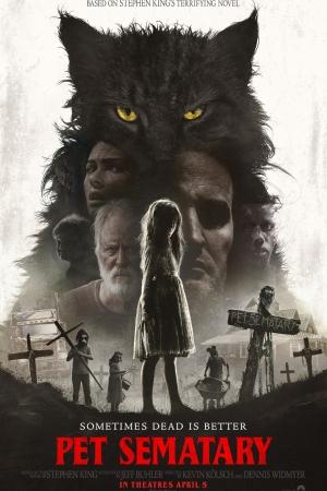 Pet Sematary กลับจากป่าช้า (2019) - Cover