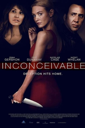 Inconceivable (2017) สวยอำมหิต จิตวิปลาส  - Cover