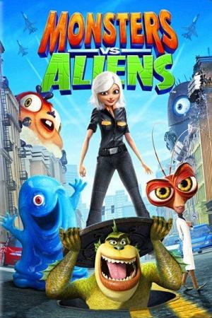 Monsters vs. Aliens มอนสเตอร์ ปะทะ เอเลี่ยน (2009) - Cover
