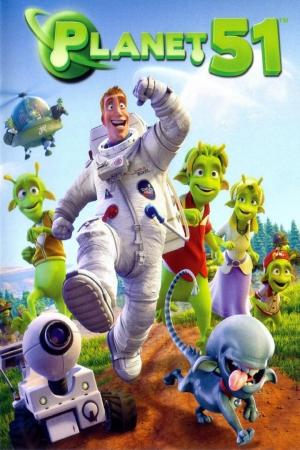 Planet 51 บุกโลกคนตัวเขียว (2009) - Cover
