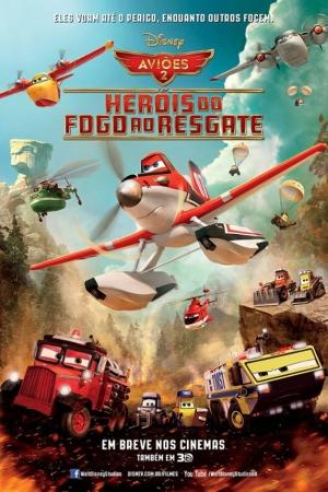 Planes Fire & Rescue (2014) เพลนส์ ผจญเพลิงเหินเวหา  - Cover