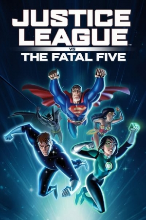 Justice League vs the Fatal Five จัสตีซ ลีก ปะทะ 5 อสูรกายเฟทอล ไฟว์ (2019) - Cover