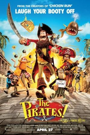 The Pirates! Band of Misfits กองโจรสลัดหลุดโลก (2012) - Cover