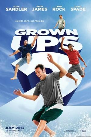 Grown Ups 2 ขาใหญ่ วัยกลับ 2 (2013) - Cover