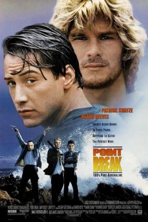 Point Break คลื่นบ้ากระแทกคลื่นบ้า [1991] - Cover