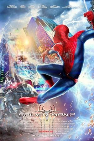 The Amazing Spider-Man 2 ดิ อะเมซิ่ง สไปเดอร์-แมน 2: ผงาดอสูรกายสายฟ้า (2014) - Cover