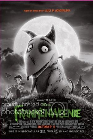 Frankenweenie แฟรงเคนวีนนี่ คืนชีพเพื่อนซี้สี่ขา (2012) - Cover
