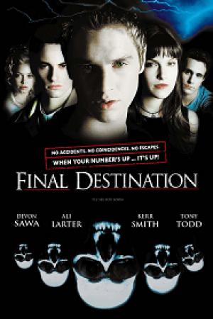 Final Destination ไฟนอล เดสติเนชั่น 7 ต้องตาย โกงความตาย (2000) - Cover