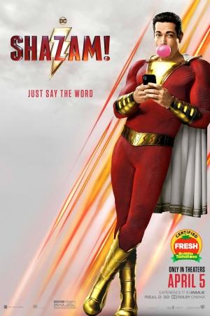 Shazam! (2019) : ชาแซม! - Cover