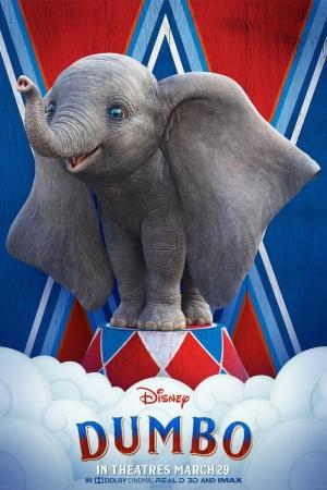 Dumbo (2019) : ดัมโบ้  - Cover
