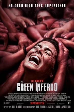 The Green Inferno หวีดสุดนรก (2013) - Cover