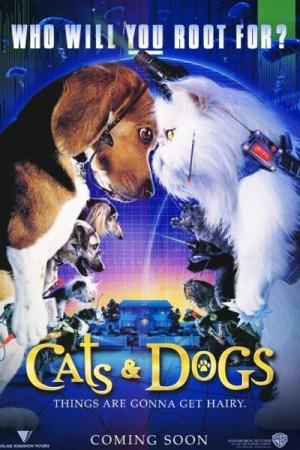 Cats & Dogs แคทส์ แอนด์ ด็อกส์ สงครามพยัคฆ์ร้ายขนปุย (2001) - Cover