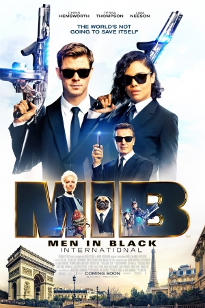 Men in Black: International (2019) : เอ็มไอบี หน่วยจารชนสากลพิทักษ์โลก - Cover
