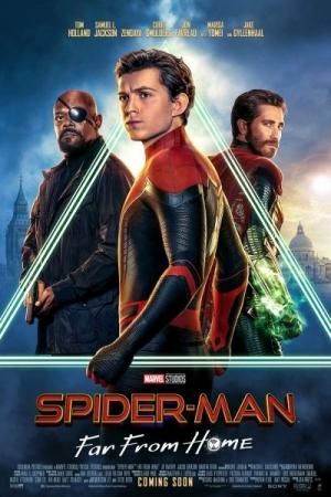 Spider-Man: Far from Home (2019) สไปเดอร์-แมน: ฟาร์ ฟรอม โฮม - Cover