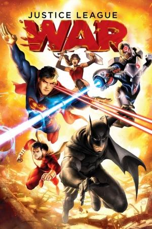Justice League: War สงครามกำเนิดจัสติซ ลีก 2014 - Cover