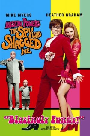 Austin Powers: The Spy Who Shagged Me สายลับ ลับๆ ล่อๆ (1999) - Cover