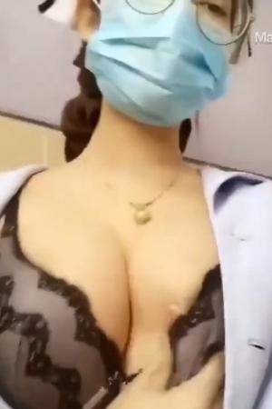 คลิปไทย ถึงจะเป็นพยาบาลก็เงี่ยนเป็นค่ะ - Cover
